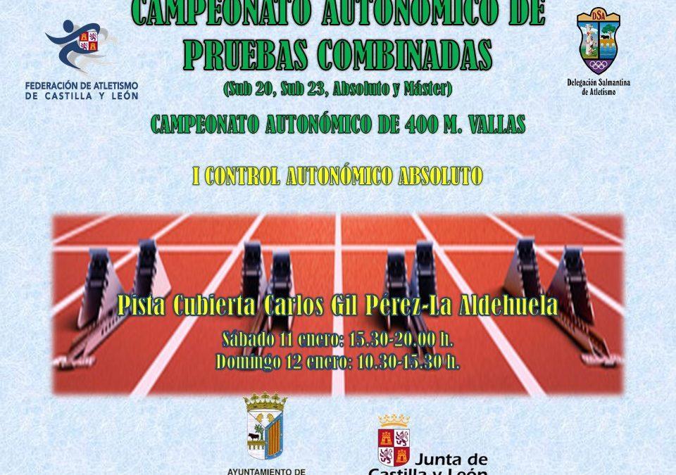 RESULTADOS EN DIRECTO CAMPEONATOS DE P. COMBINADAS, 400 M.V., CONTROLES AUTONÓMICO Y PROVINCIAL