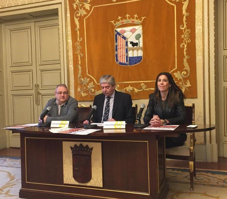 PRESENTACIÓN DEL CAMPEONATO DE ESPAÑA SUB 23 EN LA PISTA CUBIERTA DE SALAMANCA