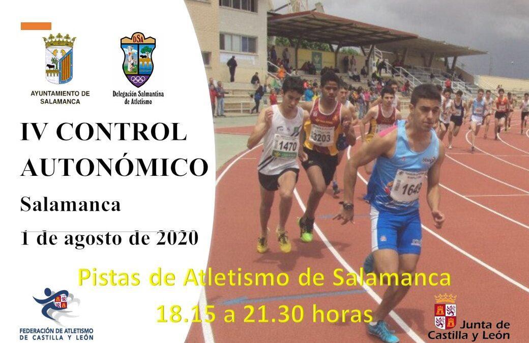 IV CONTROL AUTONÓMICO AL AIRE LIBRE-SALAMANCA, 1 DE AGOSTO