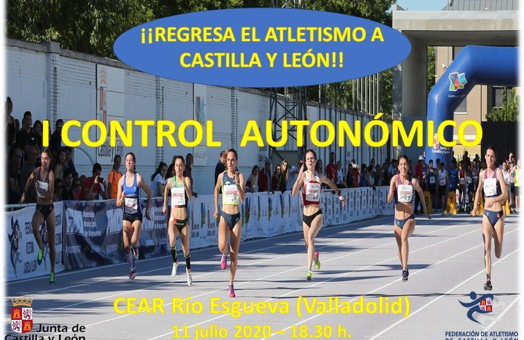 I CONTROL AUTONÓMICO AIRE LIBRE-CEAR RIO ESGUEVA (Valladolid)-11 JULIO