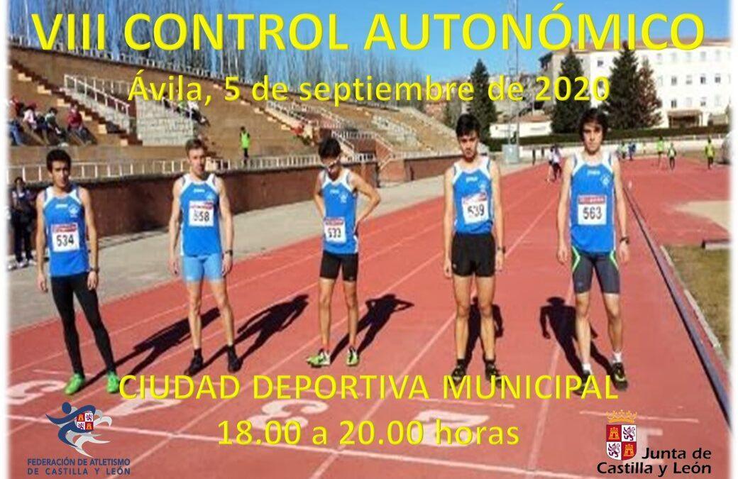 VIII CONTROL AUTONÓMICO AL AIRE LIBRE- ÁVILA, 5 SEPTIEMBRE