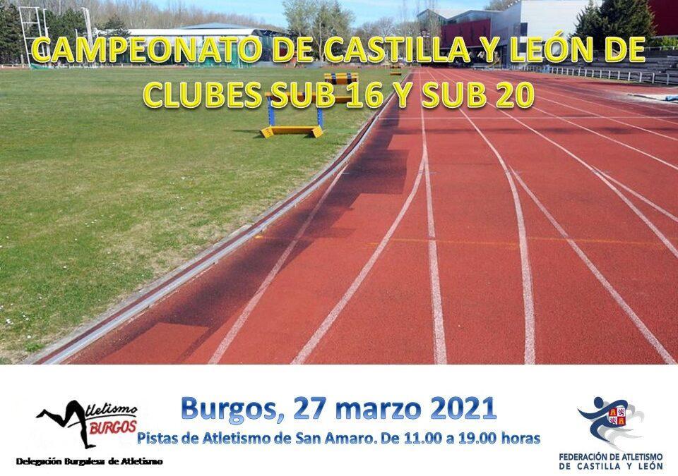 EN BURGOS, EL CAMPEONATO DE CASTILLA Y LEÓN DE CLUBES SUB 16 Y SUB 20
